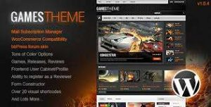 GAMESTHEME PREMIUM WORDPRESS